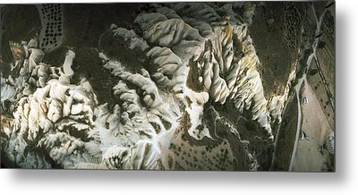 Aerial View Of Rock Formations Metal Print by Panoramic Images