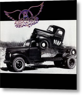 Aerosmith - Pump 1989 Metal Print by Epic Rights
