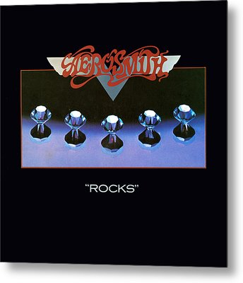 Aerosmith - Rocks 1976 Metal Print by Epic Rights