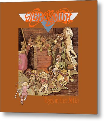 Aerosmith - Toys In The Attic 1975 Metal Print by Epic Rights