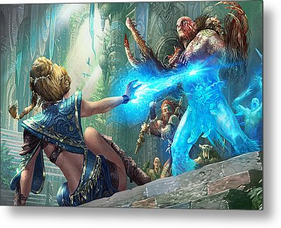 Aetherize Metal Print by Ryan Barger