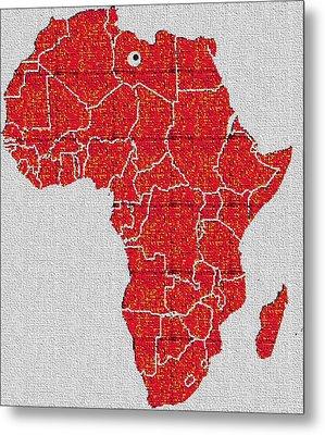 Africa Calling Metal Print by Giuseppe Epifani