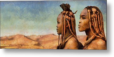 African Beauty Metal Print by Marina Likholat