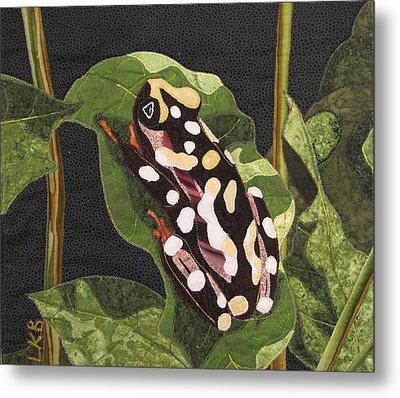 African Reed Frog Metal Print by Lynda K Boardman