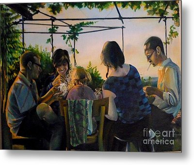 Afternoon In The Countryside Metal Print by Alessandra Andrisani