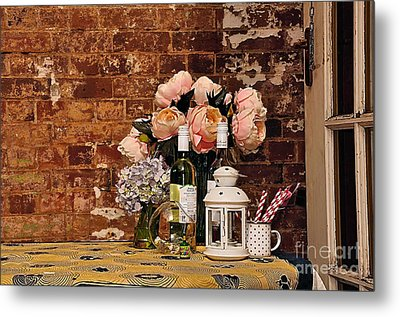 After The Party Metal Print by Kaye Menner