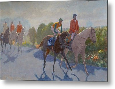 After The Race Metal Print by Terry Perham
