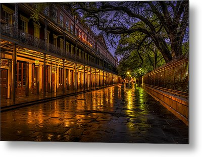 After The Rain Metal Print by David Morefield