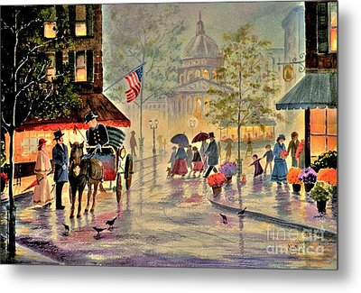 After The Rain Metal Print by Marilyn Smith