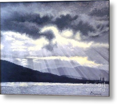 After The Storm Metal Print by Beverly Theriault