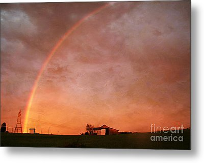 After The Storm Metal Print by Darren Fisher
