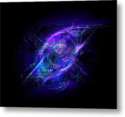 Afterglow Metal Print by George Smith