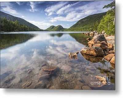 Afternoon By The Pond Metal Print by Marco Crupi