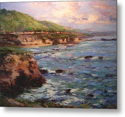 Afternoon Near Shell Beach Metal Print by R W Goetting