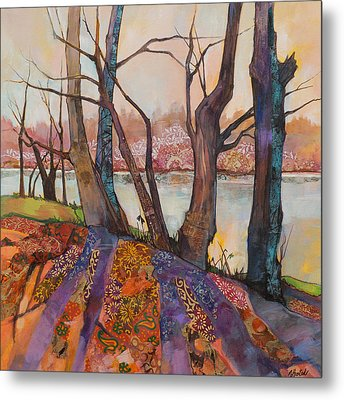 Afternoon Shadows Metal Print by Marty Husted
