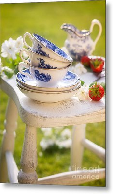 Afternoon Tea Metal Print by Amanda And Christopher Elwell