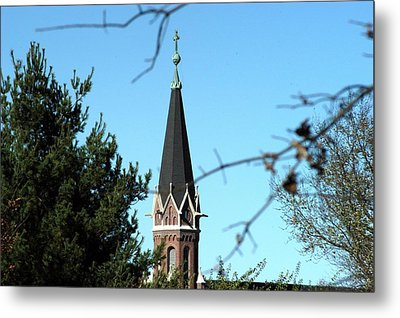 Against The Sky Metal Print by Joseph Yarbrough