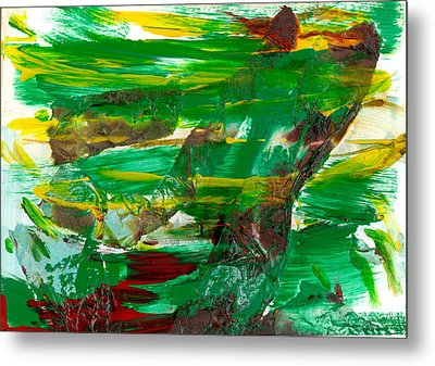 Against The Wind Metal Print by Pannet