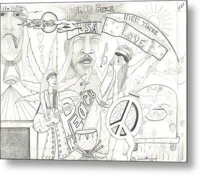 Age Of Aquarius Metal Print by Daryl Schooley