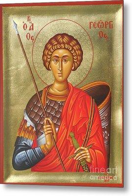 Agios Georgios - Saint George Metal Print by Theodoros Patrinos