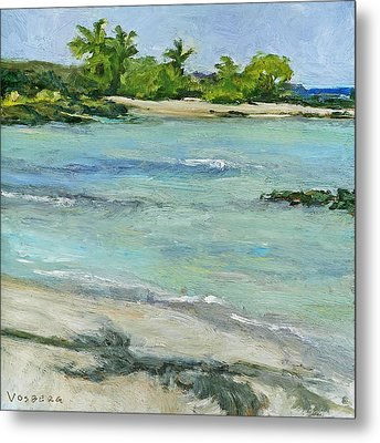 Ai'opio Beach Metal Print by Stacy Vosberg