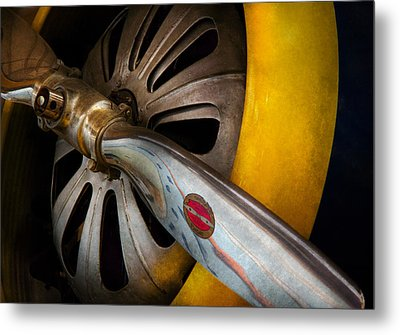 Air - Pilot - Ready For Take Off Metal Print by Mike Savad
