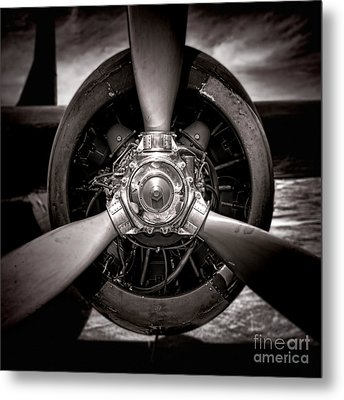 Air Power Metal Print by Olivier Le Queinec