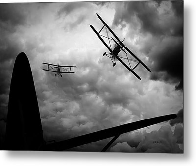 Air Pursuit Metal Print by Bob Orsillo