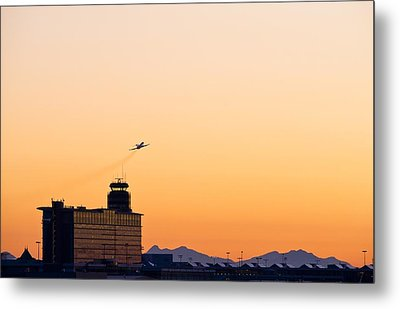 Aircraft Taking Off Metal Print by Science Photo Library