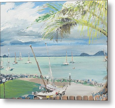 Airlie Beach  Australia Metal Print by Vincent Alexander Booth