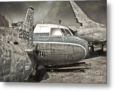 Airplane Graveyard - 02 Metal Print by Gregory Dyer