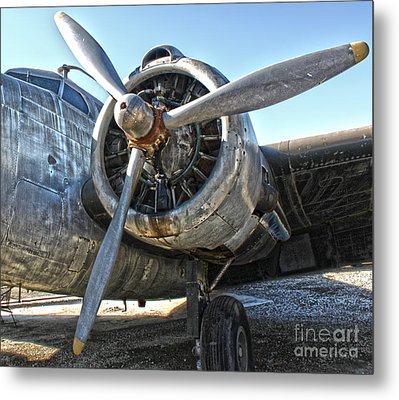 Airplane Propeller - 04 Metal Print by Gregory Dyer