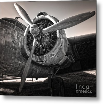 Airplane Propeller - 05 Metal Print by Gregory Dyer