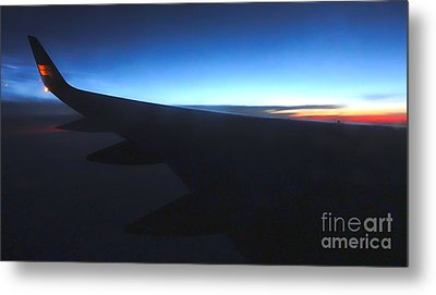 Airplane Wing - 02 Metal Print by Gregory Dyer