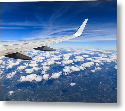 Airplane Wing Metal Print by Dutourdumonde Photography