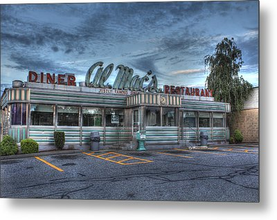 Al Mac's Diner Metal Print by Andrew Pacheco