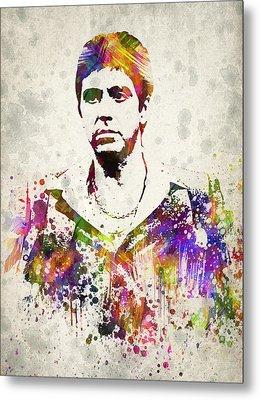 Al Pacino Metal Print by Aged Pixel
