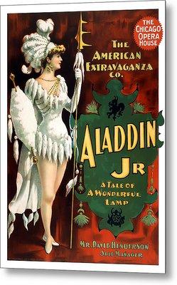 Aladdin Jr Amazon Metal Print by Terry Reynoldson