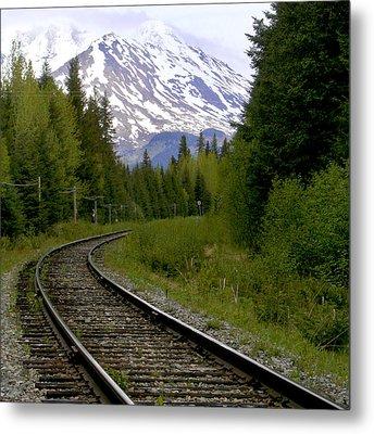 Alaskan Tracks Metal Print by Art Block Collections