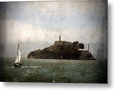 Alcatraz Island Metal Print by RicardMN Photography