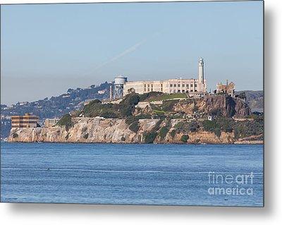 Alcatraz Island San Francisco California 5dimg2523 Metal Print by Wingsdomain Art and Photography