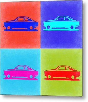 Alfa Romeo Gtv Pop Art 2 Metal Print by Naxart Studio