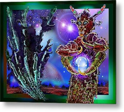 Alien  Beauty Metal Print by Hartmut Jager