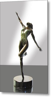 Aline Metal Print by Lincoln Stone