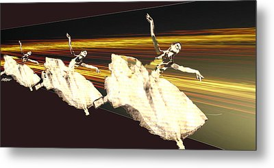 Alive In The Music Metal Print by Seth Weaver