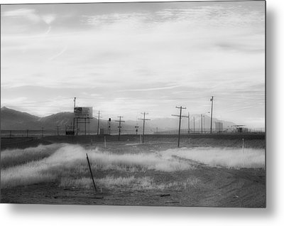 All American Landscape Metal Print by Hugh Smith