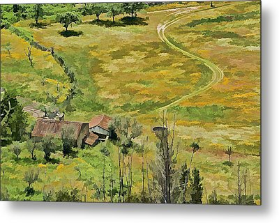 All Roads Lead Home Metal Print by David Letts