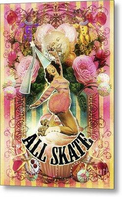 All Skate Metal Print by Aimee Stewart