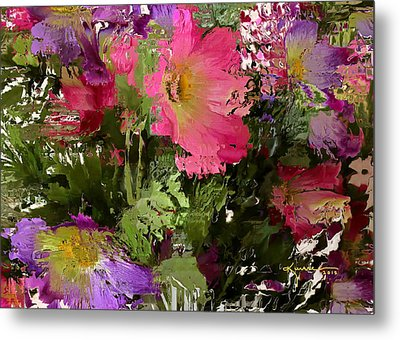 All The Flower Petals In This World 3 Metal Print by Kume Bryant