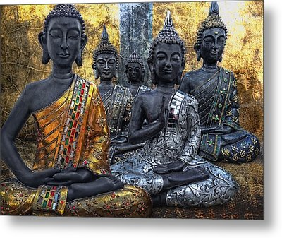 All U Buddhas Metal Print by Joachim G Pinkawa